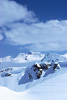 Whistler Ski Resort, BC, British Columbia, Canada - Downhill Ski Slopes (Coast Mountains)
