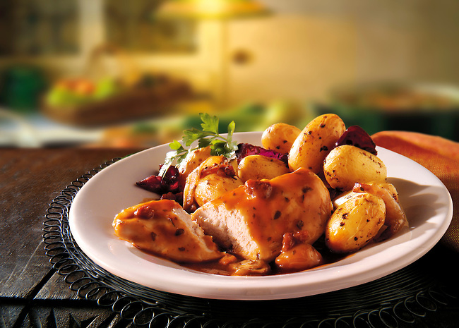British Food - Poachers Chicken