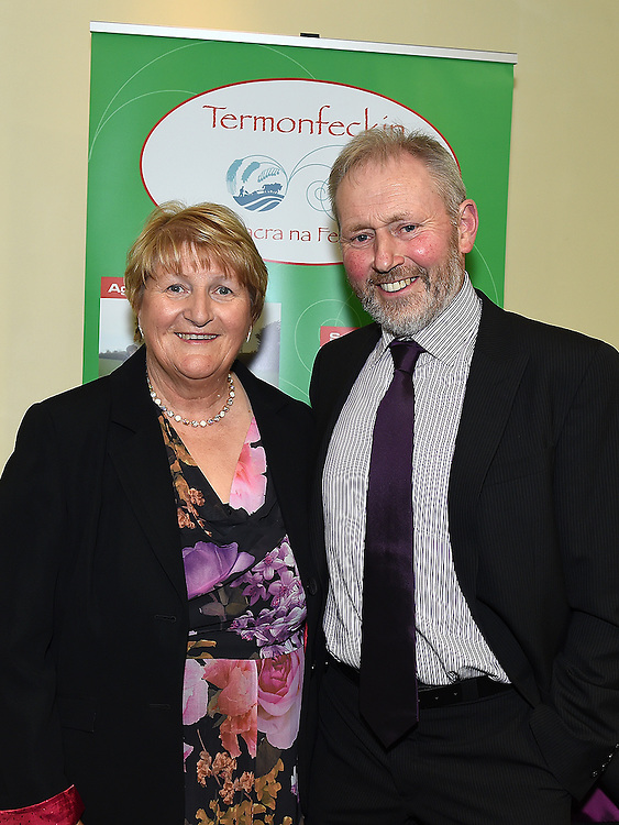 John and Sheila McEvoy pictured at the Termonfeckin Macra reunion in the Boyne Valley hotel. Photo:Colin Bell/pressphotos.ie