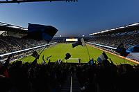 San Jose, CA - Saturday May 27, 2017: Avaya Stadium during a Major League Soccer (MLS) match between the San Jose Earthquakes and the Los Angeles Galaxy at Avaya Stadium.