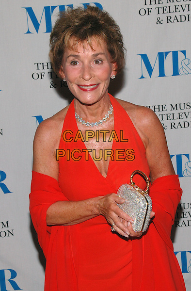 JUDGE JUDY SHEINDLIN.arrives at The Museum of Television and Radio's Annual Gala where Merv Griffin is being honored for his award winning career in radio and television..New York, New York, USA, 26 May 2005..half length.Ref: ADM.www.capitalpictures.com.sales@capitalpictures.com.©Patti Ouderkirk/AdMedia/Capital Pictures.