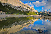 Colin Range and Medicine Lake<br /> Jasper National Park<br /> Alberta<br /> Canada