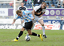 24/04/2010   Copyright  Pic : James Stewart.sct_jsp010_falkirk_v_hamilton  .::  FFLAVIO PAIXAO AND COLIN HEALY CHALLENGE ::  .James Stewart Photography 19 Carronlea Drive, Falkirk. FK2 8DN      Vat Reg No. 607 6932 25.Telephone      : +44 (0)1324 570291 .Mobile              : +44 (0)7721 416997.E-mail  :  jim@jspa.co.uk.If you require further information then contact Jim Stewart on any of the numbers above.........