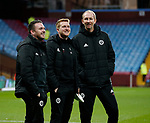 Mike Allen, Matt Prestridge and Alan Knill of Sheffield Utd during the Championship match at Villa Park Stadium, Birmingham. Picture date 23rd December 2017. Picture credit should read: Simon Bellis/Sportimage
