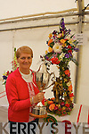 "Kathleen Reidy (Castleisland) the overall winner at the Féile na mBláth Floral Arrangement competition on Sunday with her arrangement ''Serenade to Summer""."