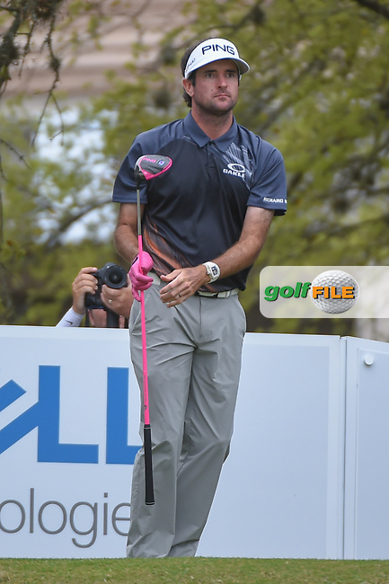 Bubba Watson (USA) watches his tee shot on 1 during day 5 of the World Golf Championships, Dell Match Play, Austin Country Club, Austin, Texas. 3/25/2018.<br /> Picture: Golffile | Ken Murray<br /> <br /> <br /> All photo usage must carry mandatory copyright credit (© Golffile | Ken Murray)
