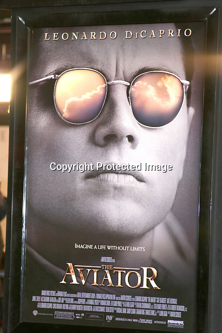 Poster<br />&quot;The Aviator&quot; Premiere - Arrivals<br />Grauman's Chinese Theatre<br />Hollywood, CA, USA<br />Wednesday, December 1, 2004<br />Photo By Selma Fonseca /Celebrityvibe.com/Photovibe.com, <br />New York, USA, Phone 212 410 <br />5354, email:sales@celebrityvibe.com