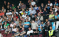 Swansea City fans during the Premier League match between West Ham United and Swansea City at the London Stadium, England, UK. 08 April 2017