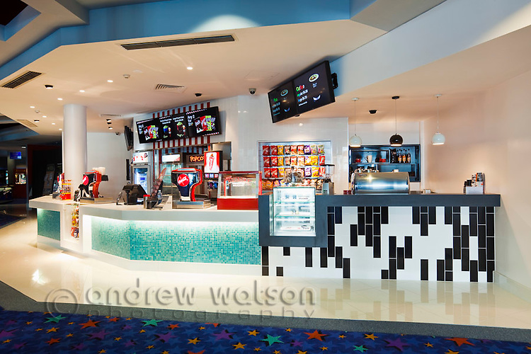 Laprock - Interior photography of BCC Cinemas Candy Bar.  19 July, 2011.