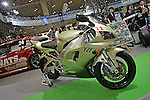 Jan 15, 2010 - Chiba, Japan - An YZF-EVR1 built by NATS is displayed during the Tokyo Auto Salon 2010 in Chiba, suburb Tokyo, on January 15, 2010. More than 400 companies, associations and groups are displaying more than 600 custom vehicules in the Japan's biggest tuning show which takes place between January 15 and 17. (Photo Laurent Benchana/Nippon News)