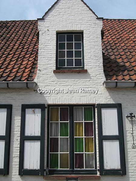 Historic home of Brugge, Belgium