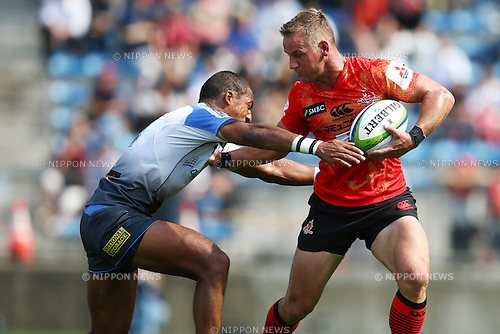 Riaan Viljoen (Sunwolves),<br /> MAY 7, 2016 - Rugby :<br /> Super Rugby match between <br /> Sunwolves - Western Force<br /> at Prince Chichibu Memorial Stadium in Tokyo, Japan. <br /> (Photo by Shingo Ito/AFLO SPORT)