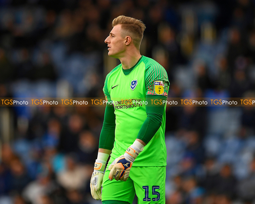 Craig MacGillivray of Portsmouth during Portsmouth vs Rochdale, Sky Bet EFL League 1 Football at Fratton Park on 13th April 2019