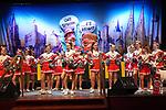 27. 02.2019, Maritim Hotel , Koeln,  GER, Karnevalssitzung des 1. FC Koeln , <br /> <br /> im Bild / picture shows: <br /> die Kinder Cheerleder des FC Koeln <br /> <br /> Foto © nordphoto / Meuter