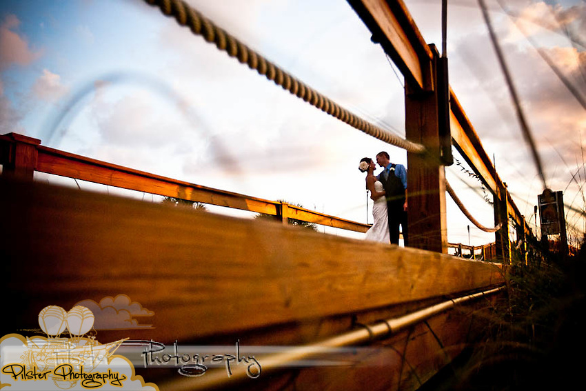 The wedding of Katie Olsen and Justin Compton Sunday, May 30, 2010, at the Carlouel Yacht Club in Clearwater Beach, Florida. The Clearwater Beach, Florida wedding of Katie Olsen and Justin Compton started with Katie getting ready at the Residence Inn Suites and Justin getting ready at a beach house, then they did a first look at the Sandpearl Resort before going to the  Carlouel Yacht Club for the ceremony and reception.  (Chad Pilster, PilsterPhotography.net)