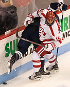 Nick Roberto (BU - 15) The Boston University Terriers defeated the visiting Yale University Bulldogs 5-2 on Tuesday, December 13, 2016, at the Agganis Arena in Boston, Massachusetts.