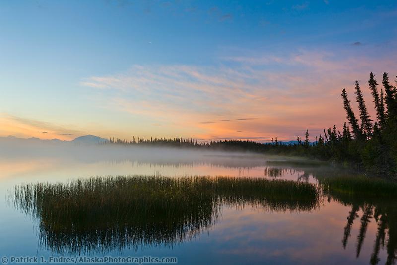 Mount Blackburn of the Wrangell Mountains, Wrangell St. Elias National Park, Alaska.