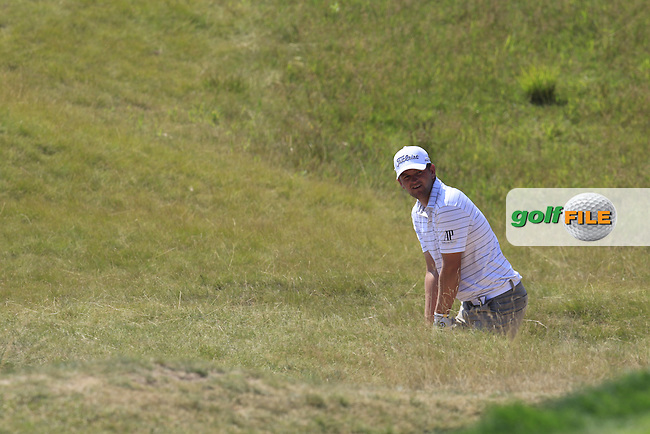 Bernd WIESBERGER (AUT) in the rough at the 6th green during Friday's Round 2 of the 97th US PGA Championship 2015 held at Whistling Straits, Mosel, Kohler, Wisconsin, United States of America. 14/08/2015.<br /> Picture Eoin Clarke, www.golffile.ie