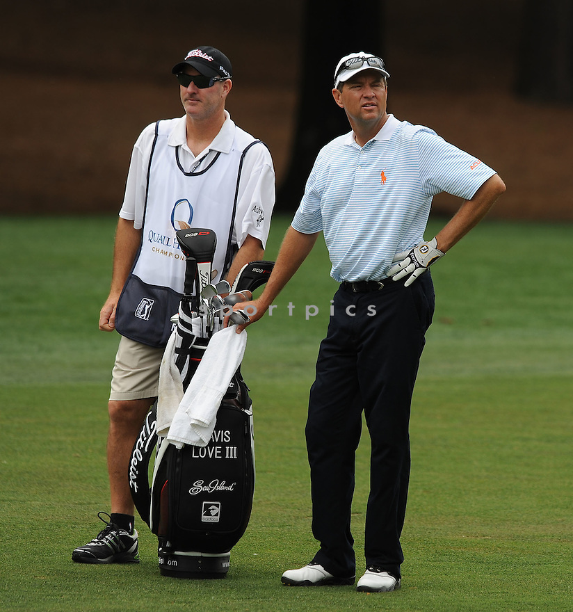 DAVIS LOVE III, during the second round of the Quail Hollow Championship, on May 1, 2009 in Charlotte, NC.
