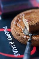 Europe/France/Aquitaine/64/Pyrénées-Atlantiques/Pays Basque/Anglet:  Gâteau basque  de Thierry Bamas pâtissier
