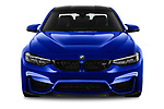 Car photography straight front view of a 2018 BMW M4 M4 CS 2 Door Coupe