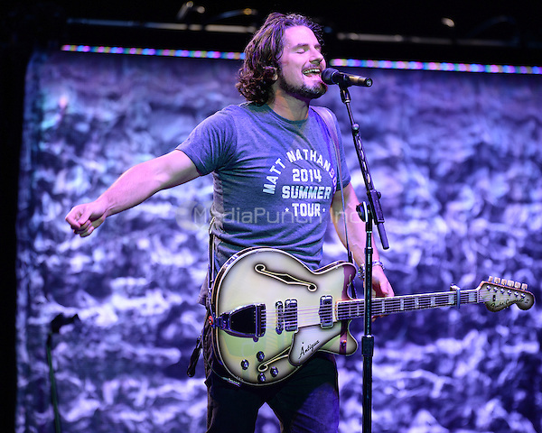 HOLLYWOOD FL - JULY 30:  Matt Nathanson performs at Hard Rock Live held at the Seminole Hard Rock Hotel & Casino on July 30, 2014 in Hollywood, Florida. Credit: mpi04/MediaPunch