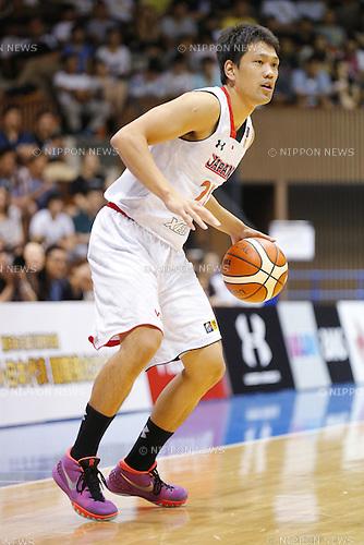 Takatoshi Furukawa (JPN), AUGUST 15, 2015 - Basketball : International friendly match between Japan 65-54 Czech Republic at 2nd Yoyogi Gymnasium in Tokyo, Japan. (Photo by Yusuke Nakanishi/AFLO SPORT)