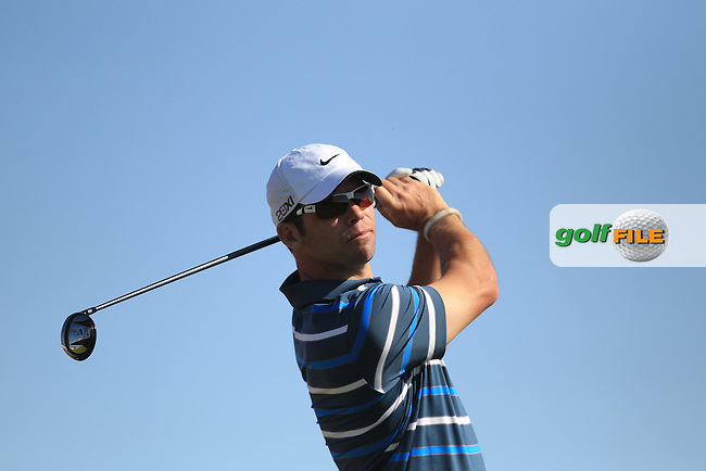 Paul Casey (ENG) on the 3rd tee during the second round at the Abu Dhabi HSBC Golf Championship in the Abu Dhabi golf club, Abu Dhabi, UAE..Picture: Fran Caffrey/www.golffile.ie.