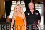 "Professional Darts: Professional Darts player Andy ""The Hammer"" Hamilton being introduced to the crowd at the Kingdom Bar, Listowel  by Tracey Grimes on Sunday evening last."