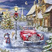Marcello, CHRISTMAS LANDSCAPES, WEIHNACHTEN WINTERLANDSCHAFTEN, NAVIDAD PAISAJES DE INVIERNO, paintings+++++,ITMCXM2108,#XL#,oldtimer
