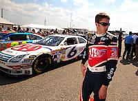 Oct 4, 2008; Talladega, AL, USA; NASCAR Sprint Cup Series driver David Ragan during qualifying for the Amp Energy 500 at the Talladega Superspeedway. Mandatory Credit: Mark J. Rebilas-