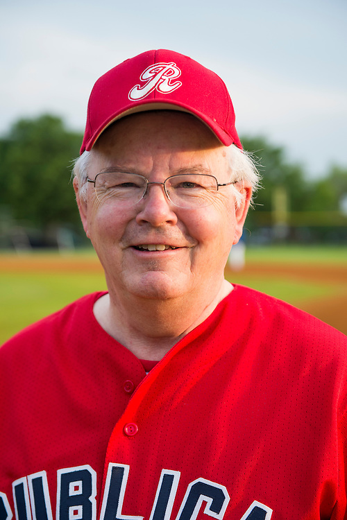 UNITED STATES - MAY 16: Rep. Joe Barton, R-Texas, mug shot during the Republicans' Congressional baseball team practice in Alexandria, Va., on Thursday morning, May 16, 2013. (Photo by Bill Clark/CQ Roll Call)