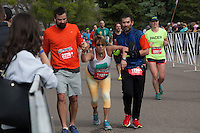 Half Marathon participants at the 2016 Colfax Marathon in Denver, Colorado