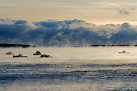 Crisp Sea Smoke Morning  #S8
