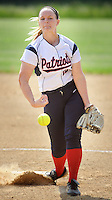 Central Bucks East's Theresa Haug #12 throws a pitch against Downingtown West in the first inning Wednesday May 25, 2016 at Central Bucks East in Buckingham, Pennsylvania. (Photo by William Thomas Cain)