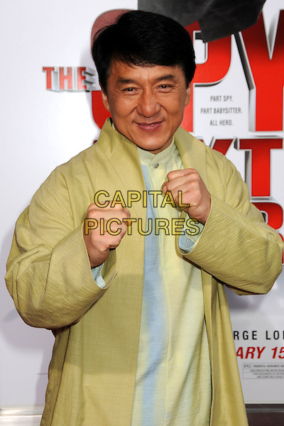 "9 January 2010 - Los Angeles, California - Jackie Chan. ""The Spy Next Door"" Los Angeles Premiere held at The Grove. Photo Credit: Byron Purvis/AdMedia"