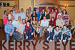 ENGAGEMENT: Michael O'Sullivan, Talbert and Catriona Scully (seated 3rd & 5th right) enjoying a great time celebrating their engagement with family and friends at Meadowlands Hotel on Saturday.   Copyright Kerry's Eye 2008