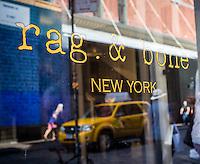 A Rag & Bone store in New York on Friday, June 26, 2015. (© Richard B. Levine)