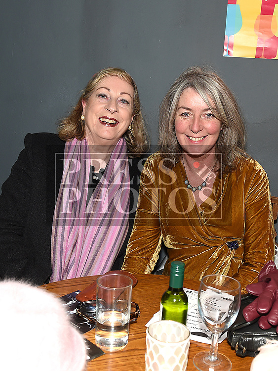 Marie Coll and Denise Walsh at 'It runs in the family' in the Droichead Arts Centre. Photo:Colin Bell/pressphotos.ie