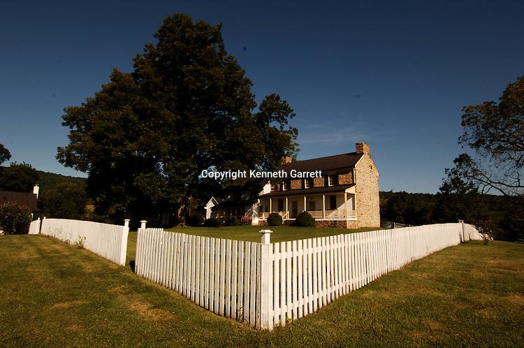 Sky Meadows State Park, Thomas Settle, Paris Valley, Fauquier County, VA, scenic