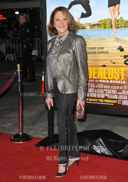 "Linda Lavin at the world premiere of her new movie ""Wanderlust"" at the Mann Village Theatre, Westwood. .February 16, 2012  Los Angeles, CA.Picture: Paul Smith / Featureflash"