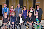 DANCERS: The regular Sunday night dancers at Ballygarry House Hotel & Spa, Tralee held their christmas get together on Sunday night in the Ballygarry House Hotel & Spa, Tralee. Front l-r: Bríd O'Donnnell, Maurice Coffey, Abbi Coffey, Noreen Gainey, Peggy Kerrisk. Back l-r: Phil Haniffin, Sheila Hannifin, Jerry Savage, June O'Donoghue,Sheila McLoughlinTony O' Danoghue.