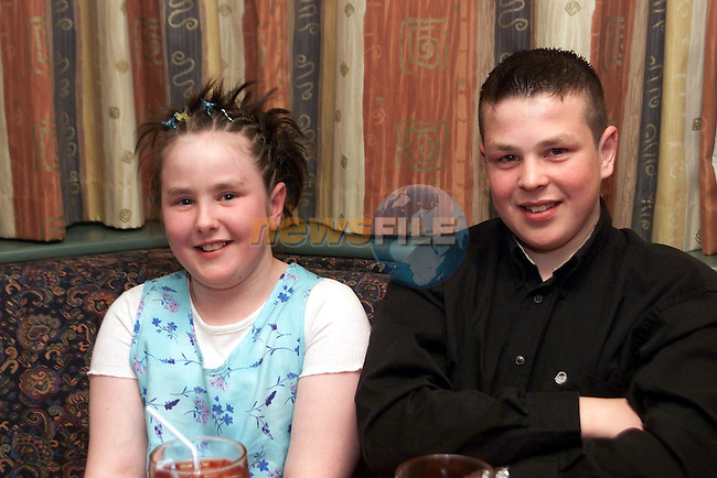 Melissa and Patrick Rice from Townrath pictured in Daly's..Picture Paul Mohan Newsfile