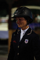 Reed Kessler after tieing for first place in the Olympic trials, USEF Trial #4,  USEF trials Wellington Florida. 3-24-2012. Photo by Arron Haggart/Eclipse Sportswire