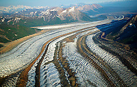 Kennicott, Gates and Root Glaciers, Wrangell Saint Elias National Park and Preserve, Alaska