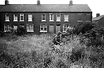 South Kirkby Colliery Yorkshire Miners Story England. 1979.<br /> <br /> Milton Terrace, is is where Geoff Boycott  lived with his family. <br /> Thanks to Brian Greenhough.