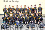 Austin Stacks team heading to Feile na nOg pictured at the clubhouse on Friday.