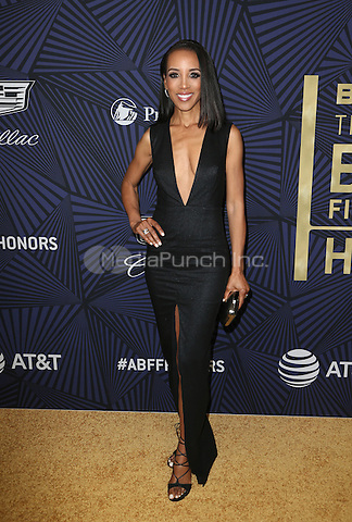 Beverly Hills, CA - February 17: Shaun Robinson, At BET's 2017 American Black Film Festival Honors Awards, At The Beverly Hilton Hotel In California on February 17, 2017. Credit: Faye Sadou/MediaPunch