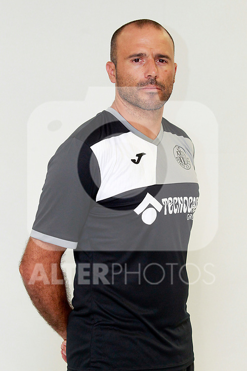 Getafe CF's goalkeeper coach Javier Barbero during the session of the official photos for the 2017/2018 season. September 19,2017. (ALTERPHOTOS/Acero)