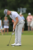 Brandon Stone (RSA) putts on the 10th green during Friday's Round 2 of the 2017 PGA Championship held at Quail Hollow Golf Club, Charlotte, North Carolina, USA. 11th August 2017.<br /> Picture: Eoin Clarke | Golffile<br /> <br /> <br /> All photos usage must carry mandatory copyright credit (&copy; Golffile | Eoin Clarke)